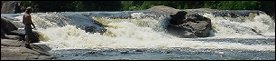 Water Falls on the West Branch of the Penobscot River